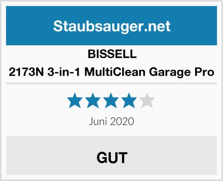 Bissell 2173N 3-in-1 MultiClean Garage Pro Test