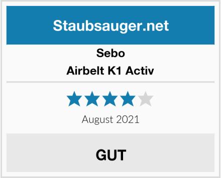 Sebo Airbelt K1 Activ Test