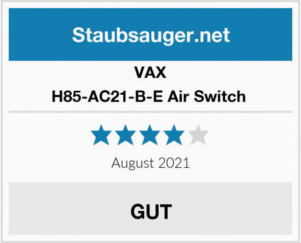 VAX H85-AC21-B-E Air Switch  Test