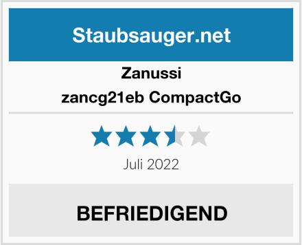 Zanussi zancg21eb CompactGo  Test
