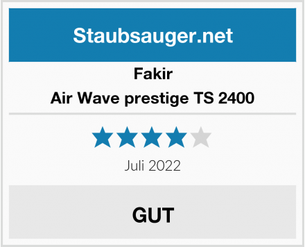 Fakir Air Wave prestige TS 2400 Test