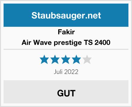 Fakir Air Wave prestige TS 2400 Test