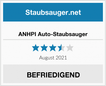 No Name ANHPI Auto-Staubsauger Test