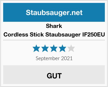 Shark Cordless Stick Staubsauger IF250EU Test