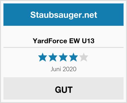 YardForce EW U13 Test