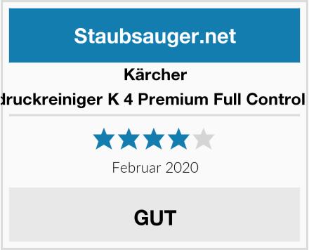 Kärcher Hochdruckreiniger K 4 Premium Full Control Home Test