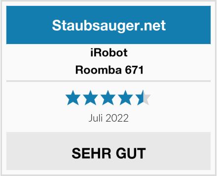 iRobot Roomba 671  Test