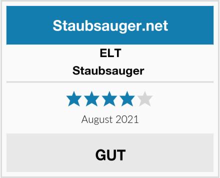 ELT Staubsauger  Test