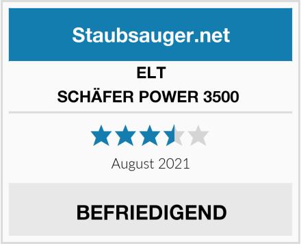 ELT SCHÄFER POWER 3500  Test