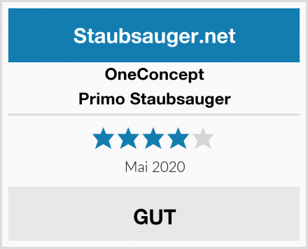 OneConcept Primo Staubsauger Test