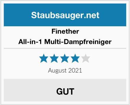 Finether All-in-1 Multi-Dampfreiniger Test