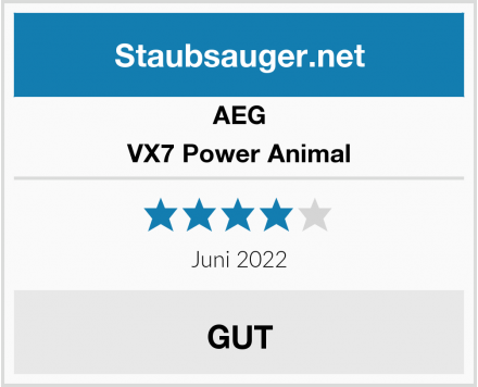 AEG VX7 Power Animal  Test