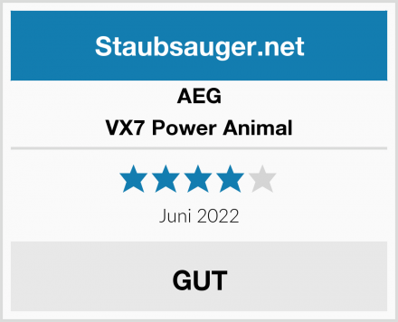 AEG VX7 Power Animal  Test