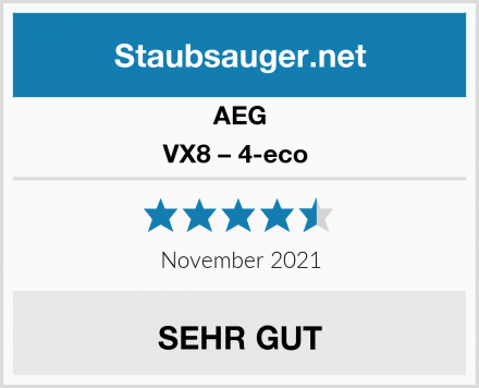 AEG VX8 – 4-eco  Test
