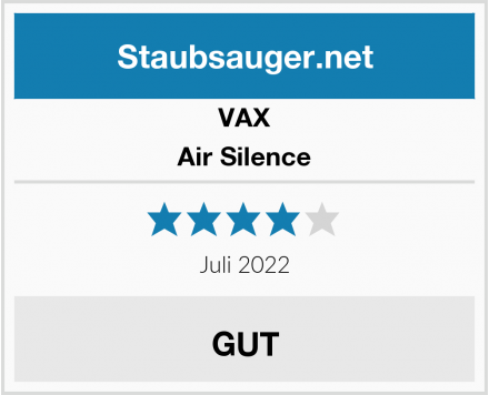 VAX Air Silence Test