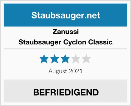 Zanussi Staubsauger Cyclon Classic Test