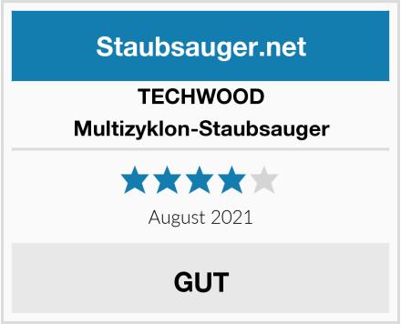 TECHWOOD Multizyklon-Staubsauger Test