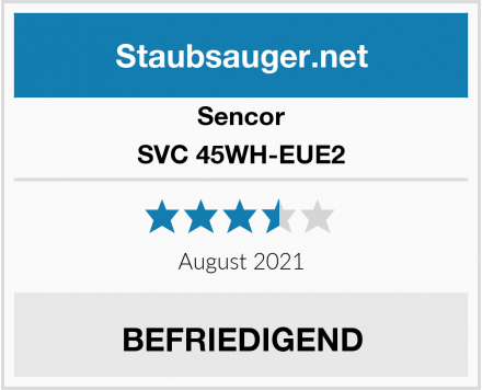 Sencor SVC 45WH-EUE2 Test