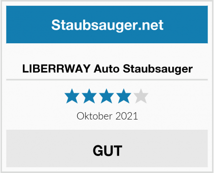 No Name LIBERRWAY Auto Staubsauger Test