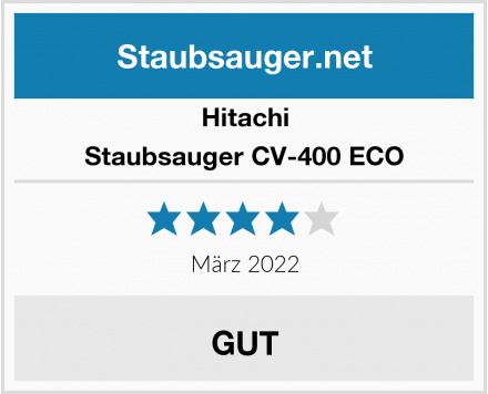 Hitachi Staubsauger CV-400 ECO Test