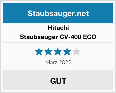 Hitachi Staubsauger CV-400 ECO Test