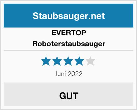 EVERTOP Roboterstaubsauger Test