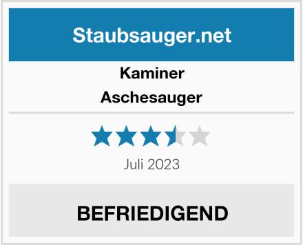 Kaminer Aschesauger Test