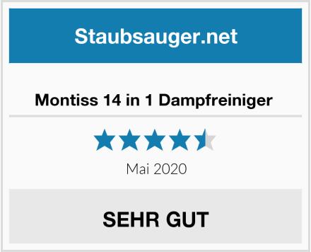 No Name Montiss 14 in 1 Dampfreiniger  Test