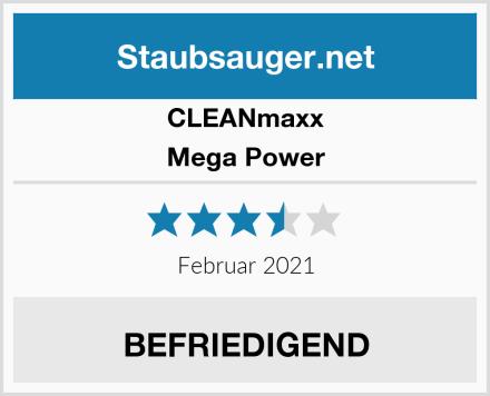 Clean Maxx Mega Power Test