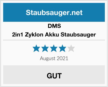 DMS 2in1 Zyklon Akku Staubsauger Test