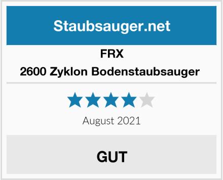 FRX 2600 Zyklon Bodenstaubsauger  Test