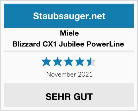 Miele Blizzard CX1 Jubilee PowerLine  Test
