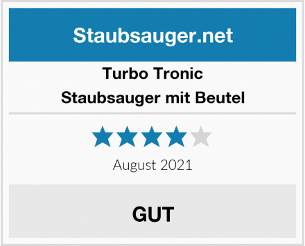 Turbo Tronic  Staubsauger mit Beutel Test
