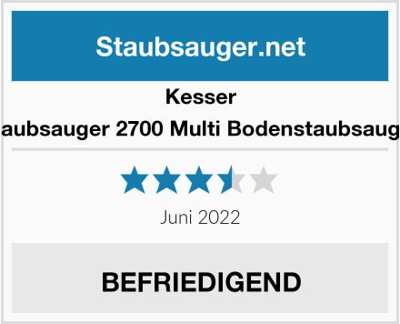 Kesser Staubsauger 2700 Multi Bodenstaubsauger Test
