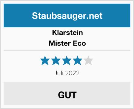 Klarstein Mister Eco  Test
