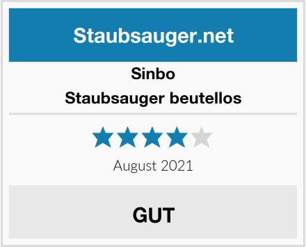 Sinbo Staubsauger beutellos Test