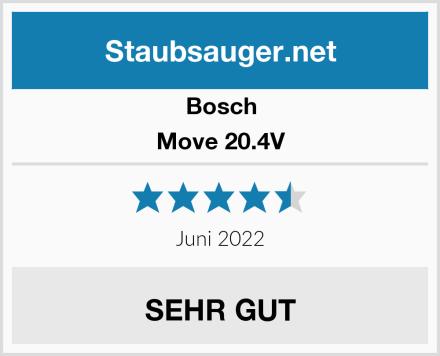 Bosch Move 20.4V  Test