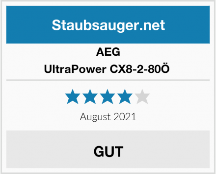AEG UltraPower CX8-2-80Ö  Test