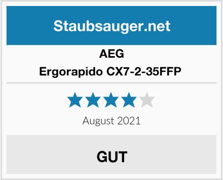 AEG Ergorapido CX7-2-35FFP  Test