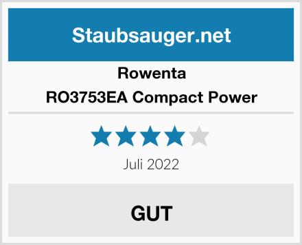 Rowenta RO3753EA Compact Power Test