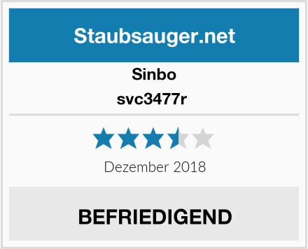 Sinbo svc3477r  Test
