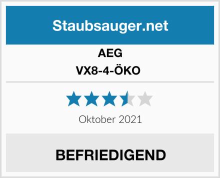 AEG VX8-4-ÖKO  Test