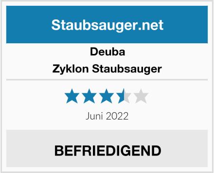 Deuba Zyklon Staubsauger Test