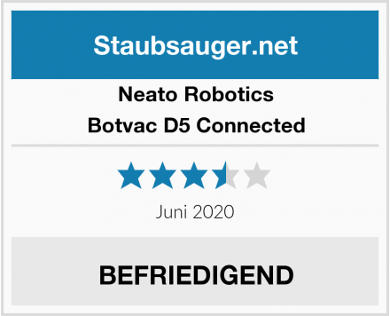 Neato Robotics Botvac D5 Connected Test