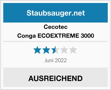 Cecotec Conga ECOEXTREME 3000  Test