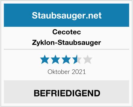 Cecotec Zyklon-Staubsauger Test