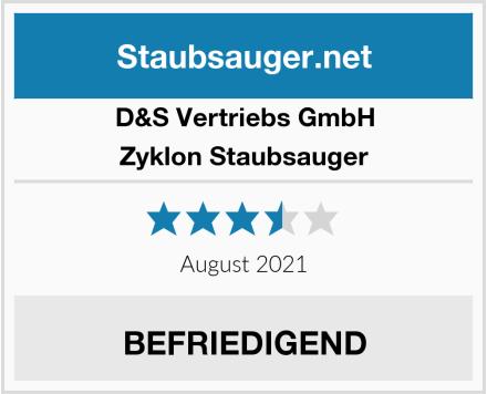 D&S Vertriebs GmbH Zyklon Staubsauger  Test