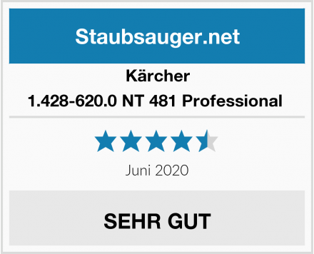 Kärcher 1.428-620.0 NT 481 Professional  Test