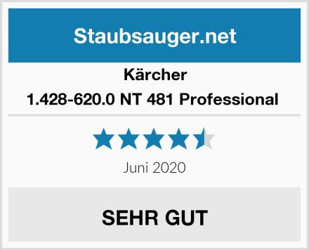 Kärcher 1.428-620.0 NT 481 Professional  Test