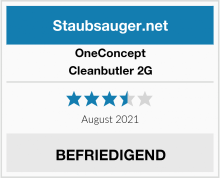 OneConcept Cleanbutler 2G Test